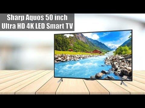 Sharp Aquos 50 inch Ultra HD 4K LED Smart TV (LC50UA6500X)