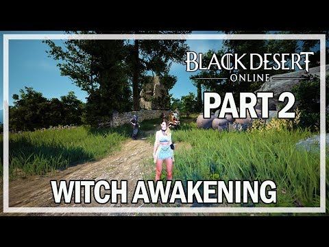 Black Desert Online Archer Awakening Quest! - смотреть