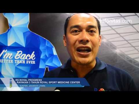 RS Royal Progress Rayakan 3 Tahun Royal Sport Medicine Center