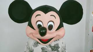 Mickey Mouse Head Mascot Costumes