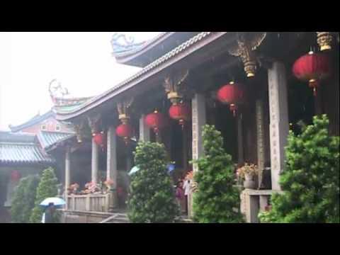 Video Sightseeing Around Xiamen Island, China