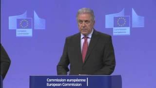 Propostas para sistema de asilo da UE