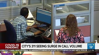 City calling centre sees surge in 311 calls