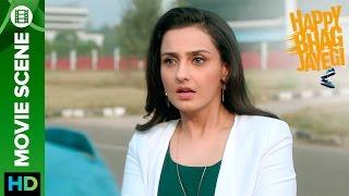 Momal Sheikh feels that Abhay Deol is cheating on her | Happy Bhag Jayegi | Movie Scene