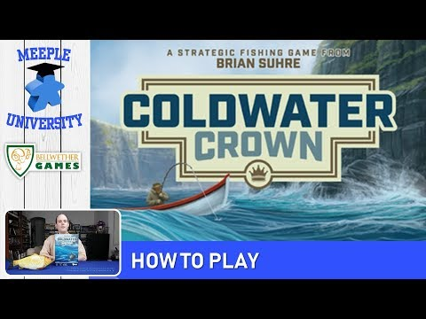 Coldwater Crown Board Game – How to Play & Setup (Full Rules) in 18 Minutes