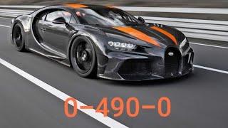 BUGATTI Chiron 0-490-0 km/h