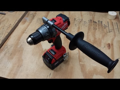 M18 FUEL ONE-KEY Hammer Drill Review 2706-20