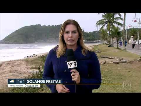 Pescador morre após barco virar no mar de Itanhaém