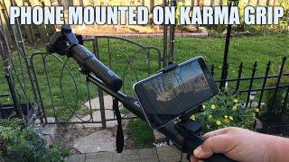 Mounting A Smart Phone on GoPro Karma Grip
