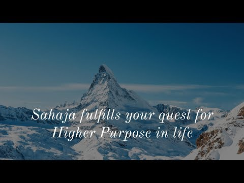 Higher purpose in life