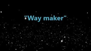 Way Maker (Instrumental)