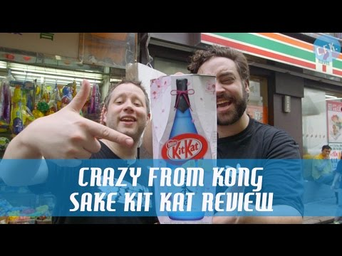 Sake Kit Kat – Crazy From Kong Review !!