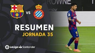 Resumen de FC Barcelona vs RCD Espanyol (1-0)
