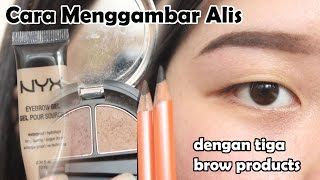 Cara Menggambar Alis (Pensil, Powder, Gel Eyebrow)