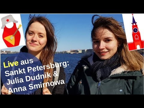 Julia Dudnik und Anna Smirnowa live aus St. Petersburg! [Video]