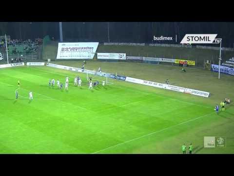 Skrót meczu Zagłębie Sosnowiec - Stomil Olsztyn 1:1