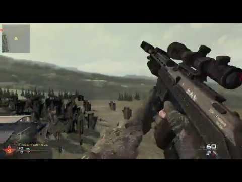 Four Custom COD WW2 Weapons in MW2/IW4x - смотреть онлайн на