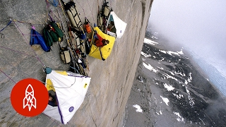 What It Feels Like to Sleep on the Side of a Mountain