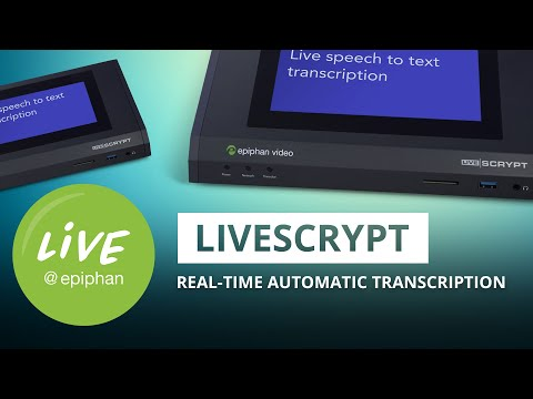Introducing LiveScrypt