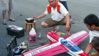 preview picture of video 'Limbang RC model plane activity'