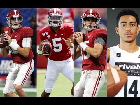 Who will be the next quarterback at Alabama? Taulia Tagovailoa, Mac Jones, Paul Tyson or Bryce Young
