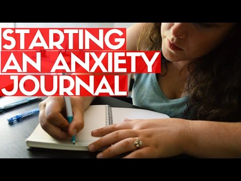 Starting My Anxiety Journal by Lauren Without Fear