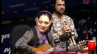Цыганский дуэт РадаНик и группа New Джанг на радио Маяк
