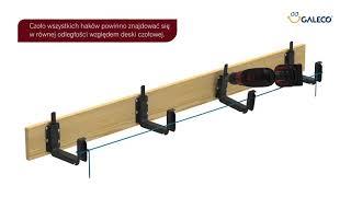 Montaż kwadratowych systemów rynnowych ze stali Galeco STAL2