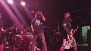 """D.R.I. (Dirty Rotten Imbeciles) """"Mad Man"""" & """"Couch Slouch"""" Live At Voltage Lounge, Philly 9/16/18"""