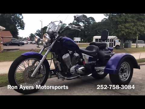 2005 Honda Shadow® VLX Deluxe 600 in Greenville, North Carolina - Video 1