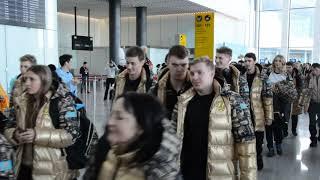 Студенческая сборная Казахстана отправилась в Красноярск/ Универсиада 2019
