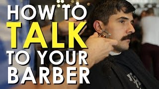 How to Talk to Your Barber | Art of Manliness