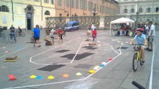 Mountain bike skills course for kids Turin Italy