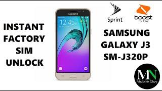 SIM Unlock Sprint / Boost / Virgin Samsung Galaxy J3 For Use On GSM Carriers!