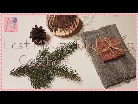 Diy Seife Selber Machen Last Minute Geschenk Weihnachten