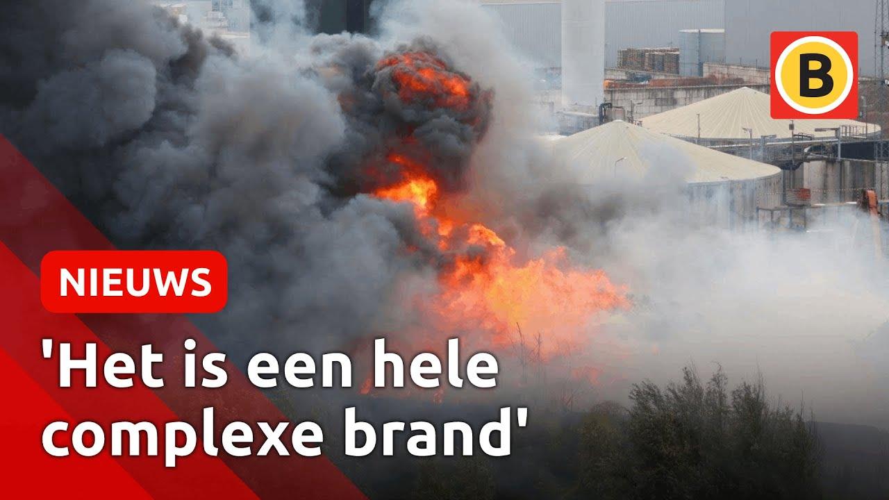 Grote brand bij schrootbedrijf AVI   Omroep Brabant