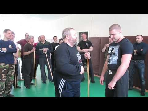 Street fighter tests Russian Martial Art Systema