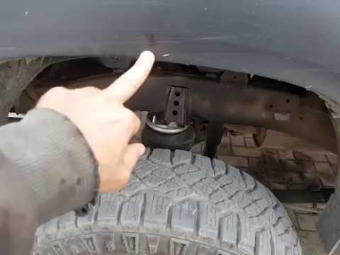 Пневмобаллоны под рессору Toyota Hilux Revo. Пневмопродукт
