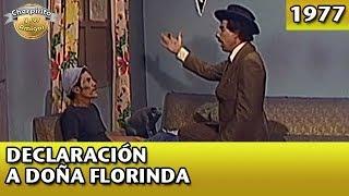 El Chavo | Declaración a Doña Florinda (Los Cursis) Completo