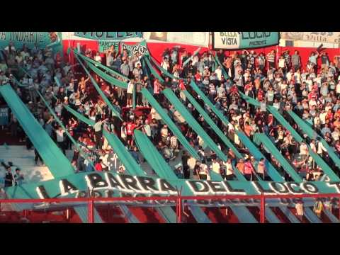 """""""Clausura 2012; Argentinos Juniors vs Belgrano - La Barra del Loco Tito"""" Barra: Los Piratas Celestes de Alberdi • Club: Belgrano"""