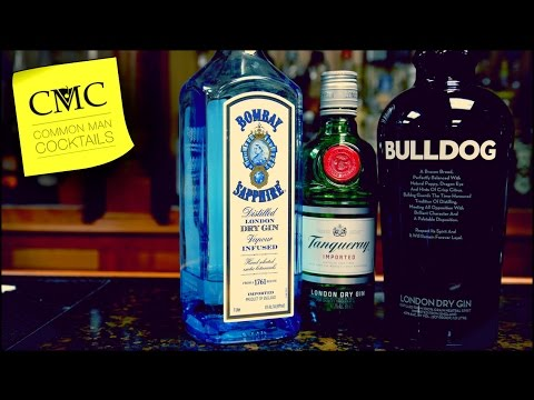 Gin Blind Tasting Bombay Sapphire, Bulldog & Tanqueray / The 🏆 Goes To…