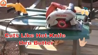 How I Cut Metal Roofing. Like Butter