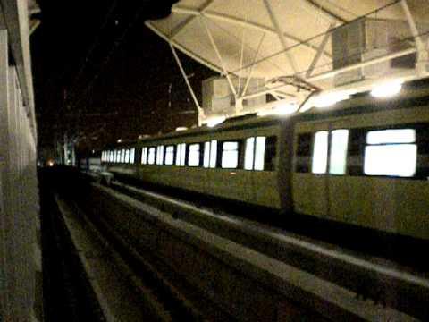 قطار مكة تشغيل تجريبي 2