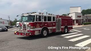 Arlington County Engine 108, 110 & Truck 106 Responding