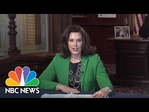 Michigan Gov. Whitmer Cuomo Holds Coronavirus Briefing | NBC News