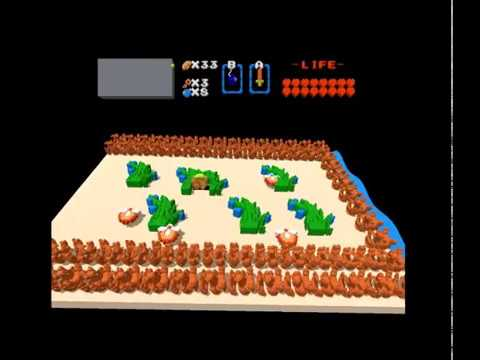 3DNes V2: Legend of Zelda Remastered