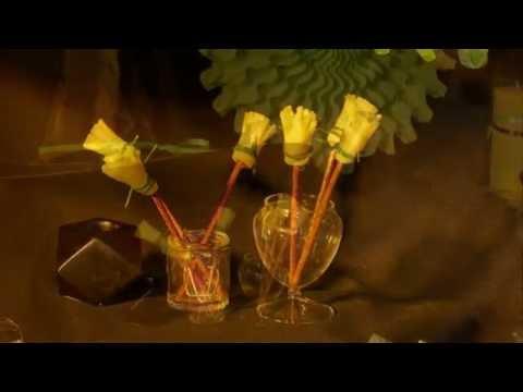 Halloween-Rezept: Käse-Hexenbesen