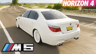BMW ile Gazlama   Forza Horizon 4 BMW M5 E60