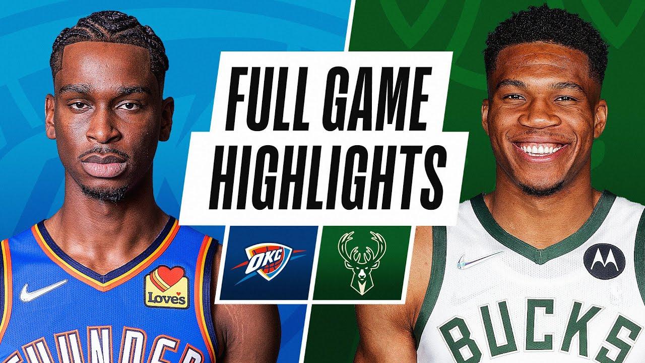 THUNDER at BUCKS | NBA PRESEASON FULL GAME HIGHLIGHTS | October 10, 2021