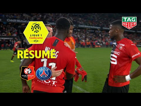 Stade Rennais FC - Paris Saint-Germain ( 2-1 ) - Résumé - (SRFC - PARIS) / 2019-20